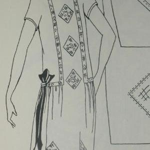 1920s Unique Handwork for Frocks an..