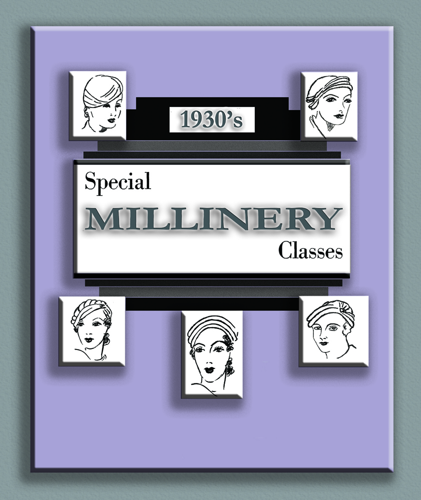 Create 1930s Art Deco Hats Millinery Hatmaking Lessons book